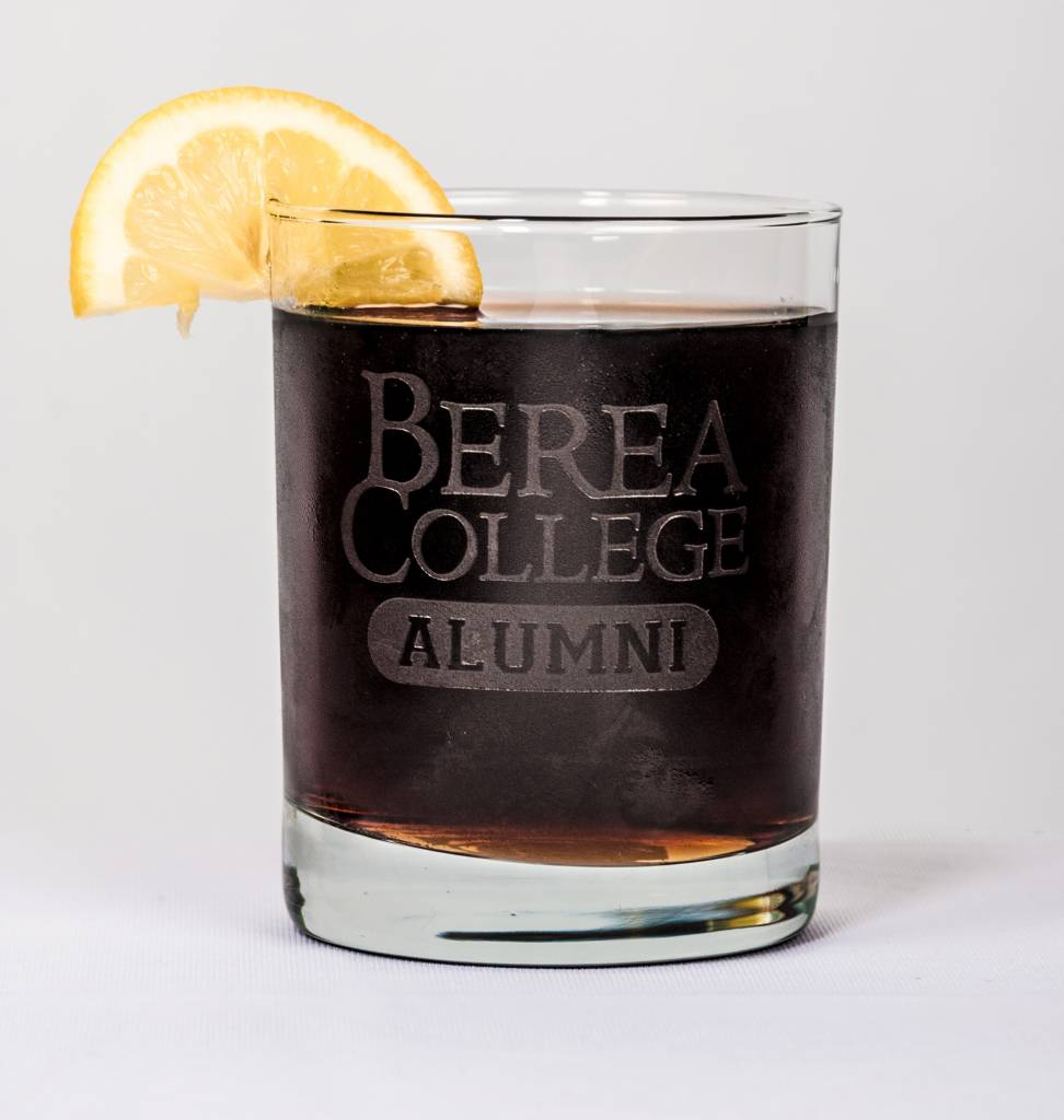 Jardine Etched Alumni Rocks Glass