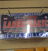Laser Magic License Plate Frame, Mountaineers, Berea College