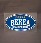 CDI Proud Berea Grandparent Decal