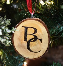 Berea College Crafts BC Wood Slice Ornament