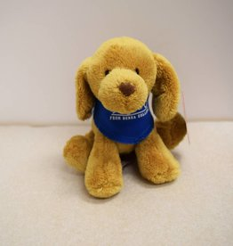 MCM Group Plush, Dog, Blue Bandanna