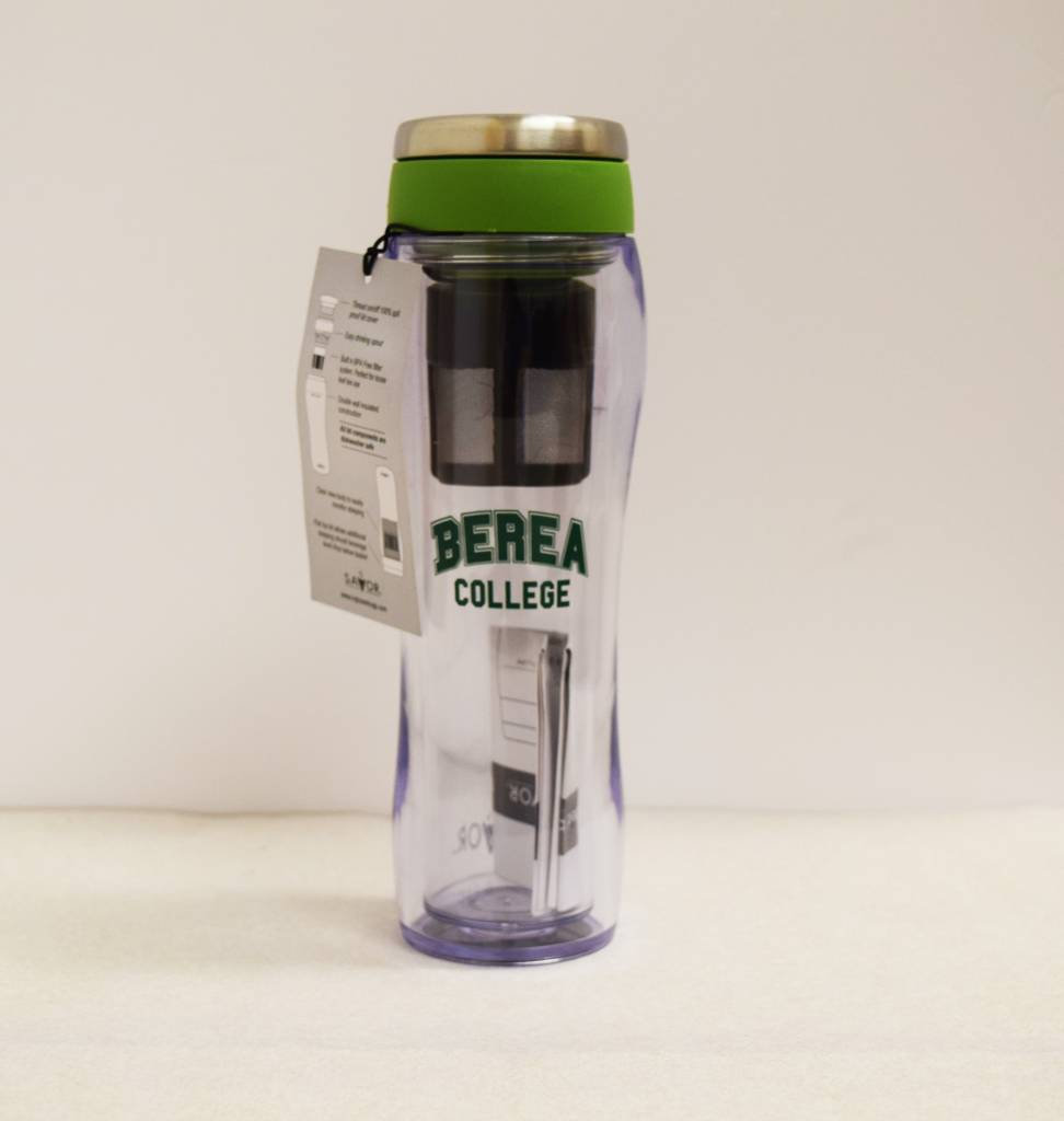 Nordic Green Berea College Tea Tumbler 12 oz