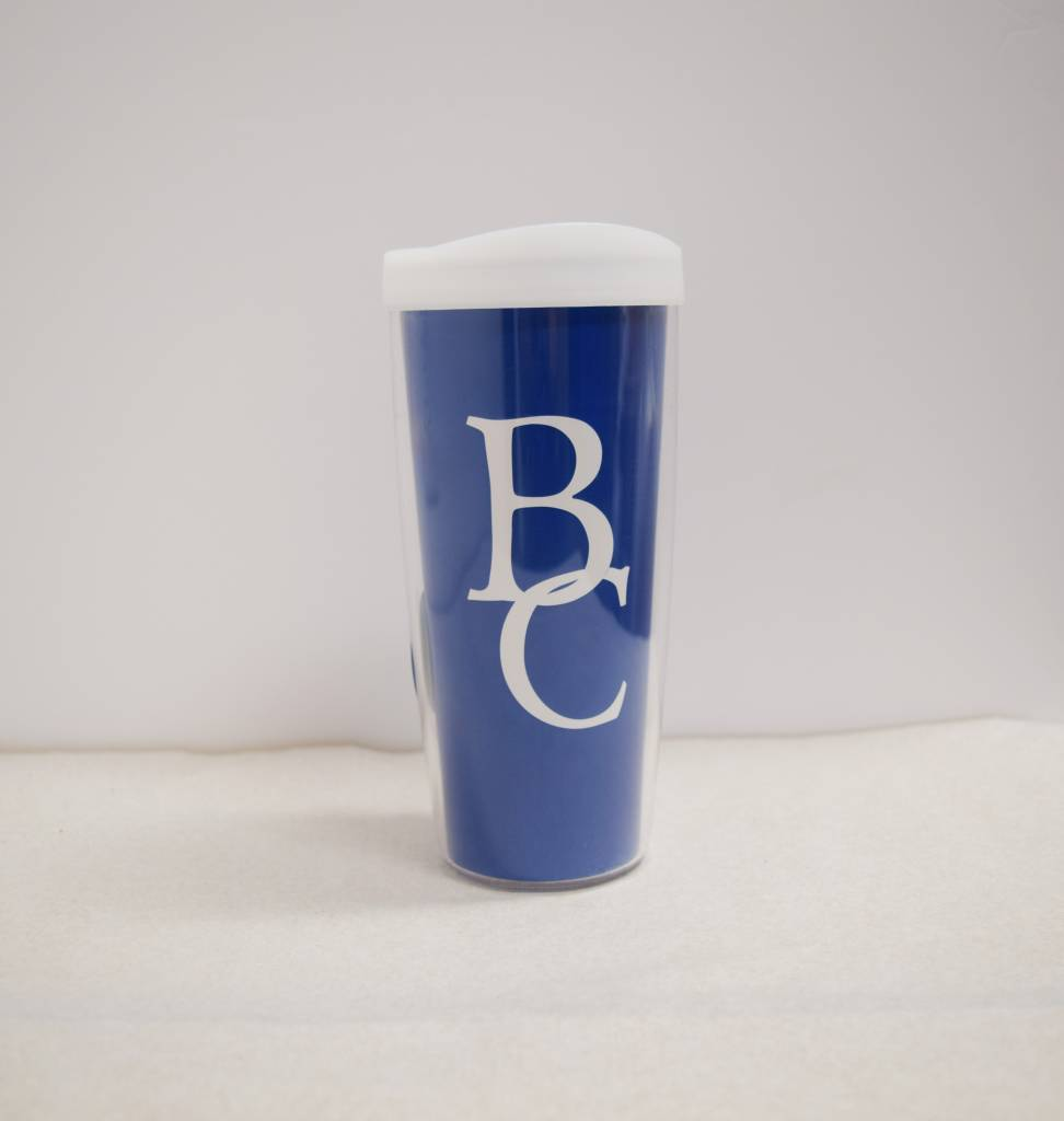 Blue Thermal 16 oz BC Tumbler