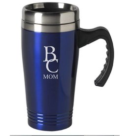 Laser Engraved BC Mom Travel Mug