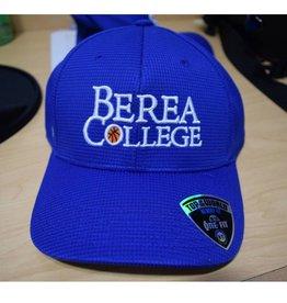 Top of the World Headware Ball Cap, Blue, Berea College, Basketball in O