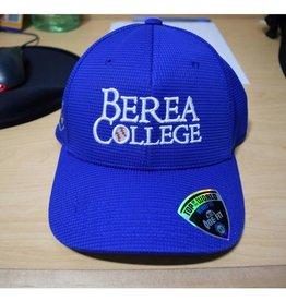 Top of the World Headware Ball Cap, Blue, Berea College, Baseball in O