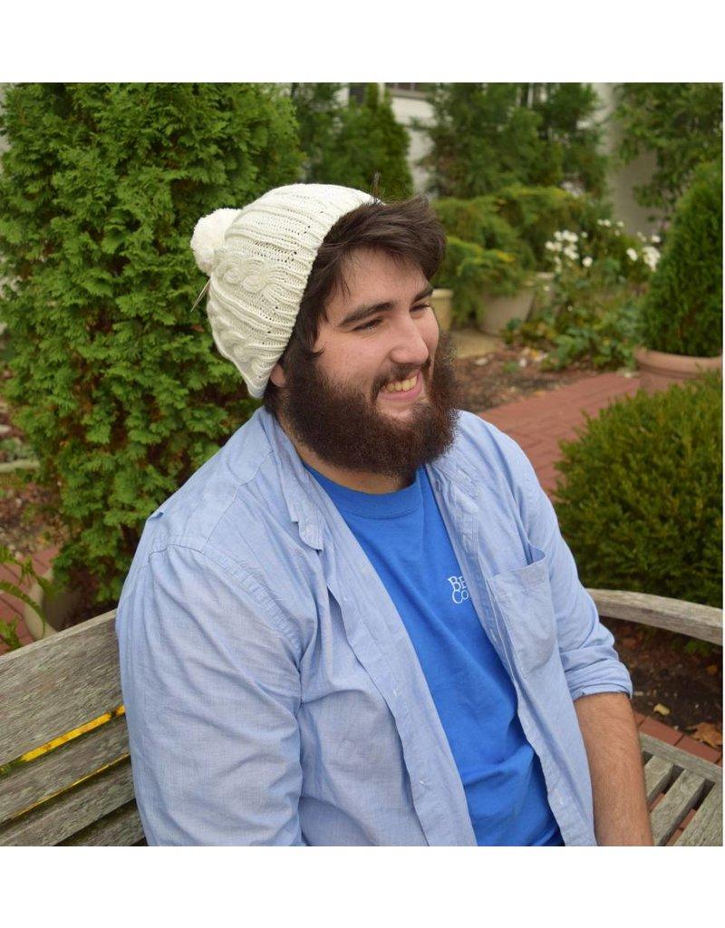 BC Cream Knit Beanie