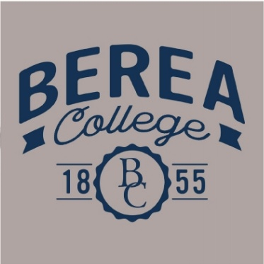 MV Sport Hoodie, Gray, Berea College Arched, 1855, BC in Circle