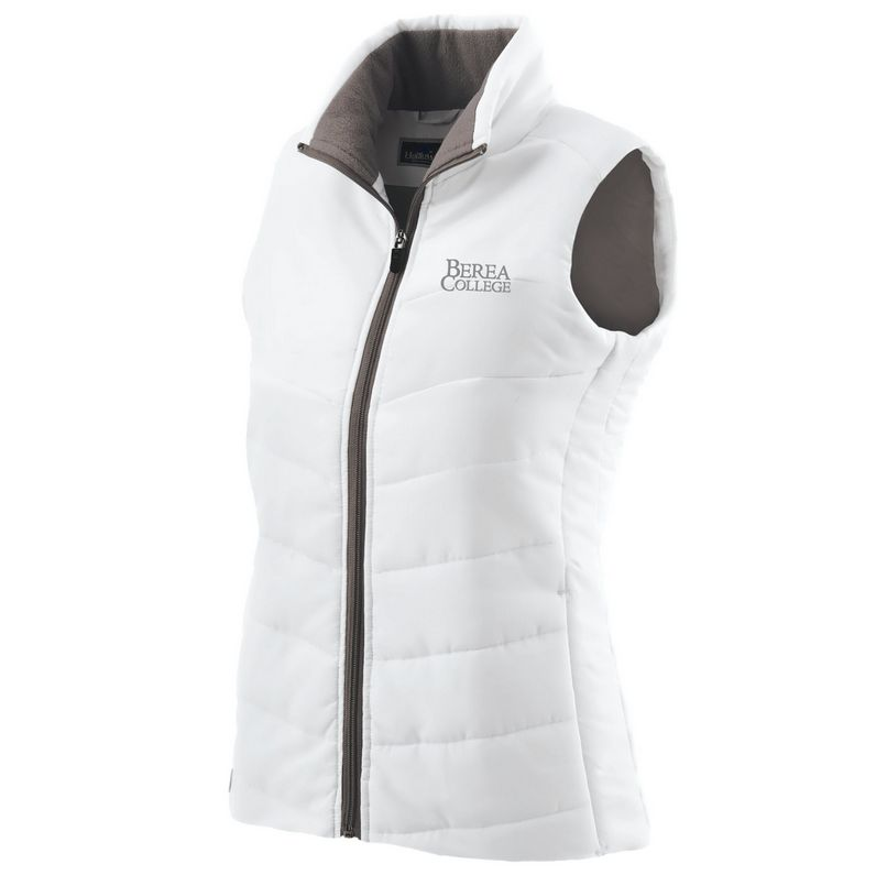 Ouray Sportswear Vest,White,Womens,Interlocking BC