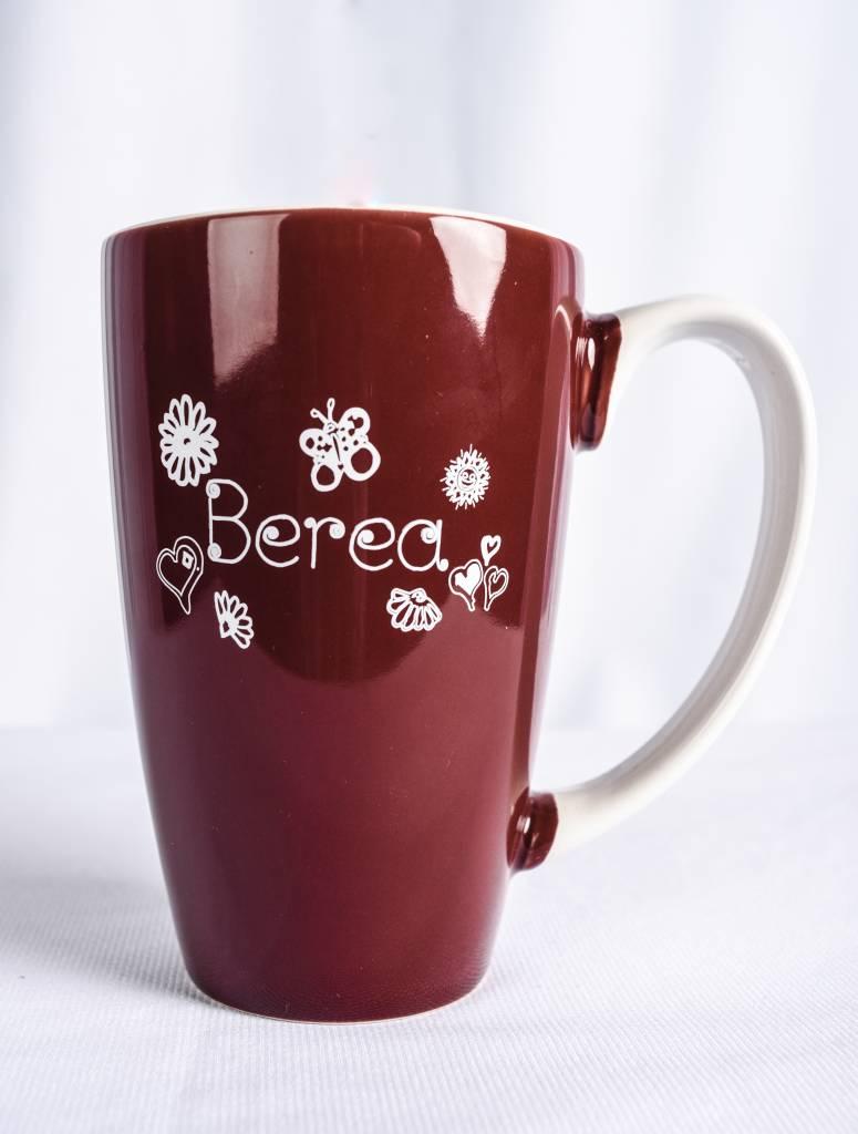 Nordic Two Tone Berea Flowers Mug