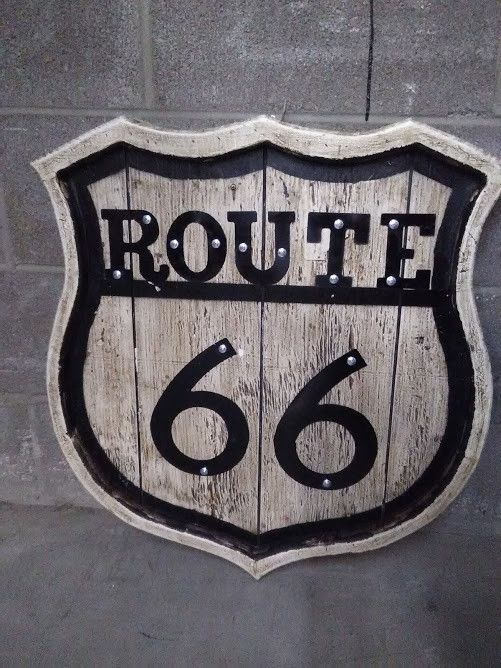 Route 66 Sign Wow Warehouse