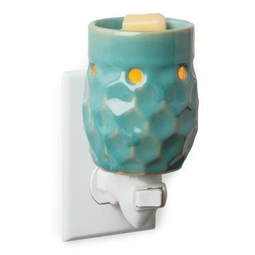 Pluggable Honey Comb Turquoise