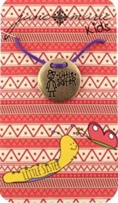 Purple Chickadee Necklace-
