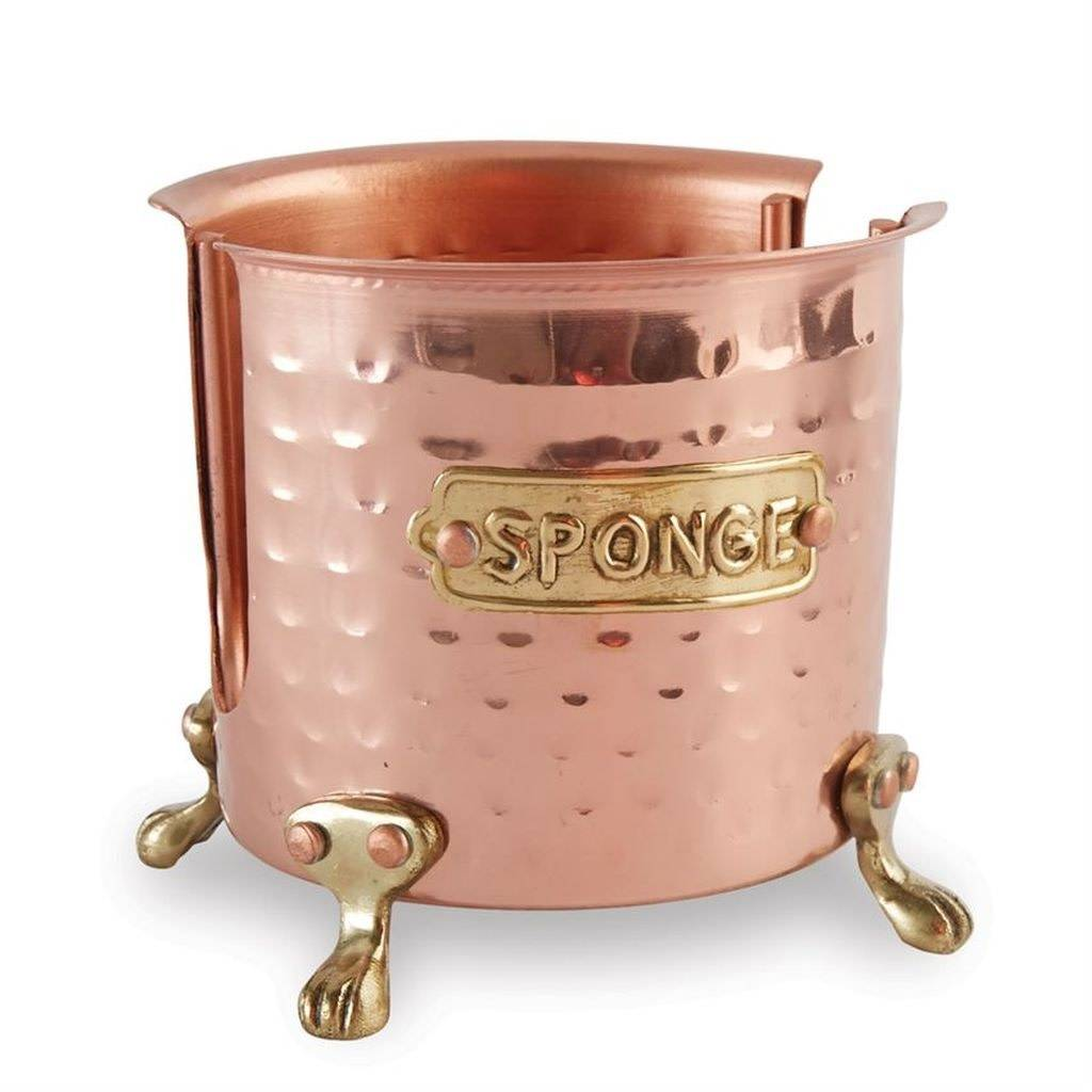 MUD PIE Copper Sponge Caddy