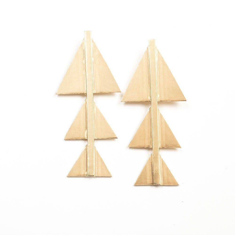 B.B. & Triangle Earring