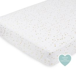 Aden & Anais Metallic Gold Classic Crib Sheet