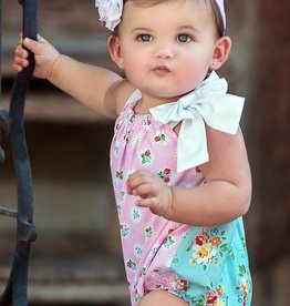 Persnickety Bushel & A Peck Dolly Romper