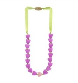 Chewbeads Juniorbeads Spring Heart Necklace