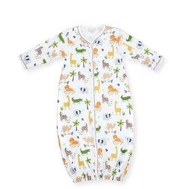 Kissy Kissy Jungle Jaunt Print Converter Gown