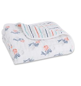 Aden & Anais Tea - Fish Pond Classic Dream Blanket