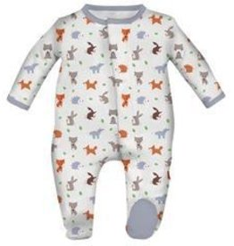 Magnificent Baby Magnetic Woodland Origami Modal Footie