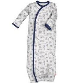 Magnificent Baby Magnetic Blueprint Gown, NB/3M