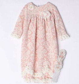 Isobella & Chloe Vintage Rose Layette Sack, NB