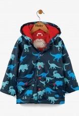 Hatley Dino Shadows Boys Raincoat