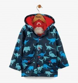 Hatley Dino Shadows Boys Raincoat