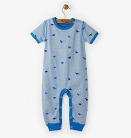 Hatley Tiny Dinos Short Sleeve Mini Romper