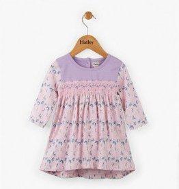 Hatley Precious Deer Mini Smocked Dress