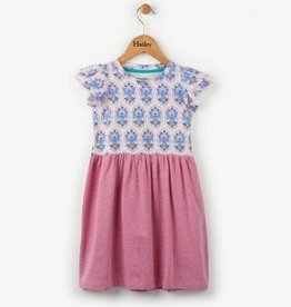 Hatley Floral Victoria Flutter Sleeve Dress