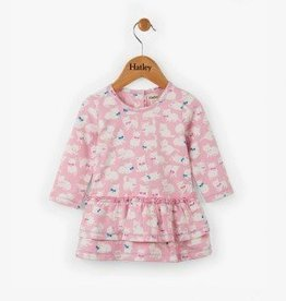 Hatley Sophisticated Kittens Mini Layered Dress