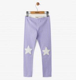 Hatley Lilac Glittering Star Leggings