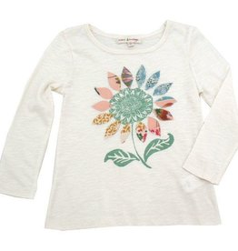 Mimi & Maggie Sunflower Seeds Tee Natural