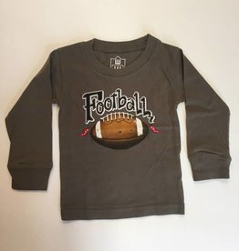 Wes And Willy Football LS Tee OD Green