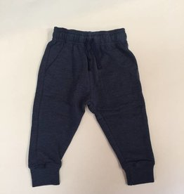 Wes And Willy Blend Slub Fleece Jogger Pant Midnight