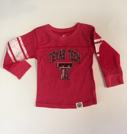 Wes And Willy Texas Tech Blend LS Jersey