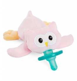 WubbaNub Boxed Pink Owl Paci