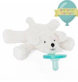 WubbaNub Boxed Bichon Paci (Birthday Edition)