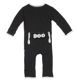 Kickee Pants Midnight BOO Holiday Coverall