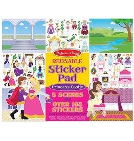 Melissa & Doug Reusable Sticker Pad Princess