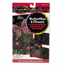 Melissa & Doug Color-Reveal Pictures - Butterflies & Flowers