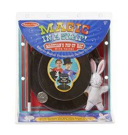 Melissa & Doug Magic in a Snap - Pop Up Magical Hat