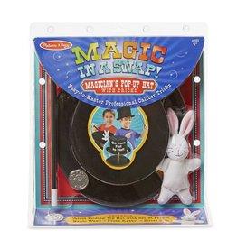 Melissa & Doug Magic in a Snap - Pop Up Magical Hat