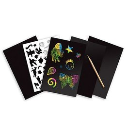 Melissa & Doug Rainbow Holographic Scratch Art Boards
