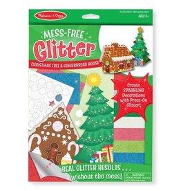 Melissa & Doug Mess Free Glitter Xmas Tree and Gingerbread House
