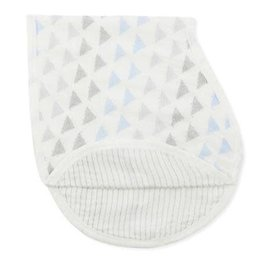 Aden & Anais Metallic Blue Moon Birch Silky Soft Burpy Bib