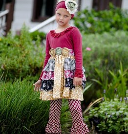 Giggle Moon Precious Ruby Gracie w/Ruffle Legging