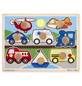 Melissa & Doug Vehicles Jumbo Knob Puzzle